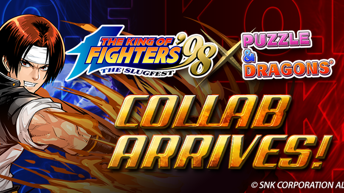 Renowned Classic The King of Fighters Partners Collab with Puzzle & Dragons
