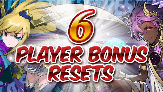 6 Player Bonus Resets