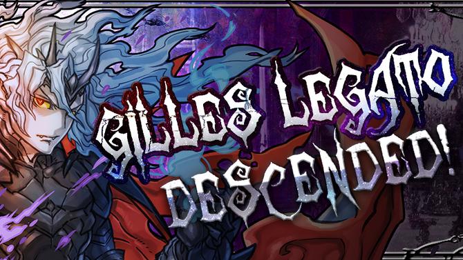 Gilles Legato Descended!