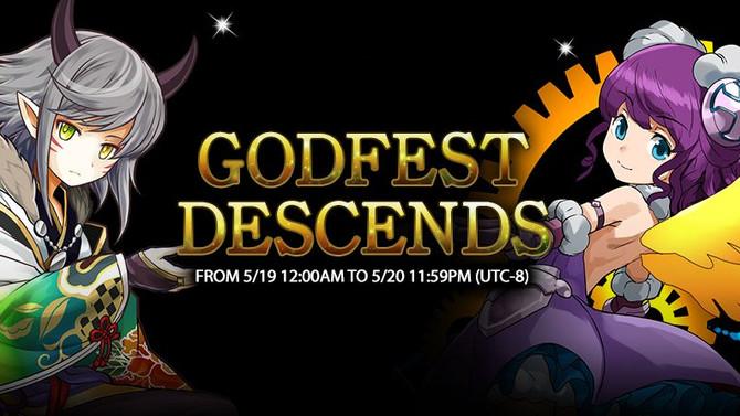 Godfest Descends