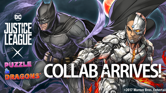 Justice League Collab Arrives in Puzzle & Dragons