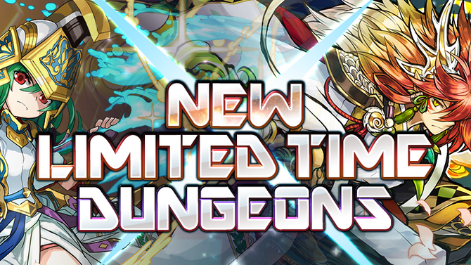 New Limited Time Dungeons