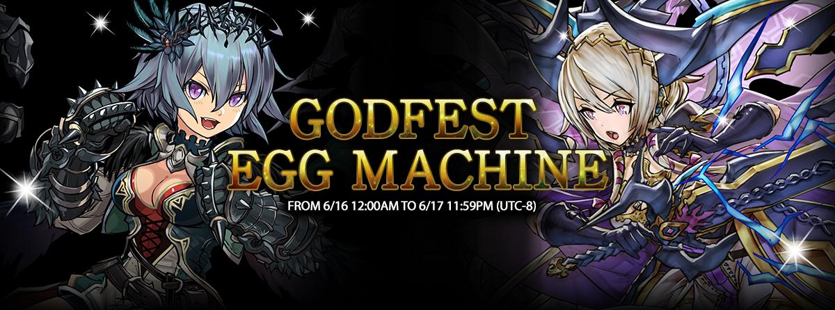 Godfest Egg Machine