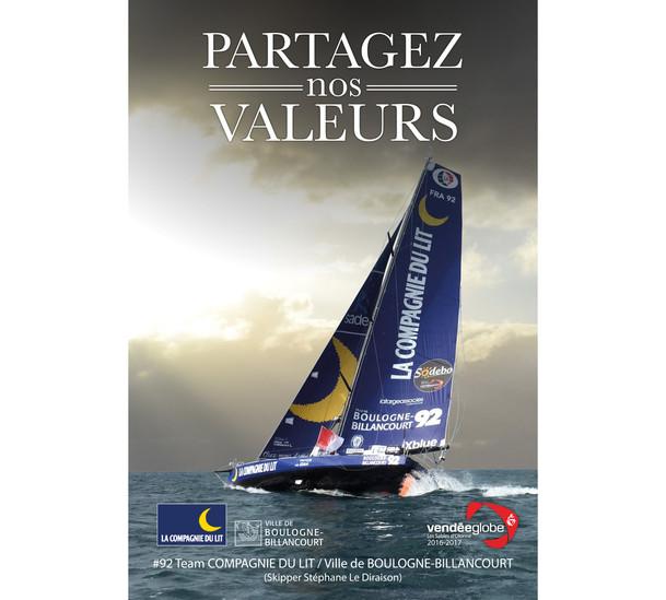 Affiche / Poster Vendée Globe 2016