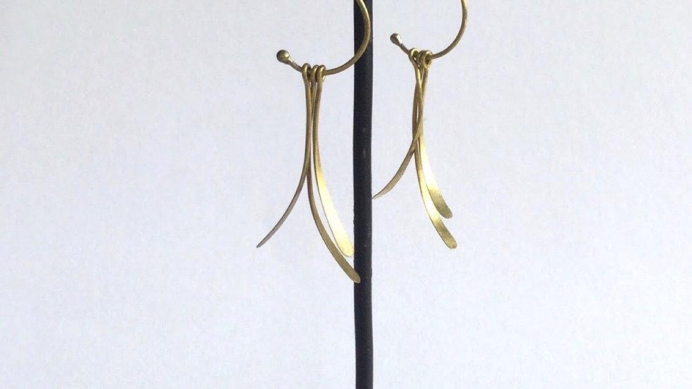 真鍮ピアス/su021