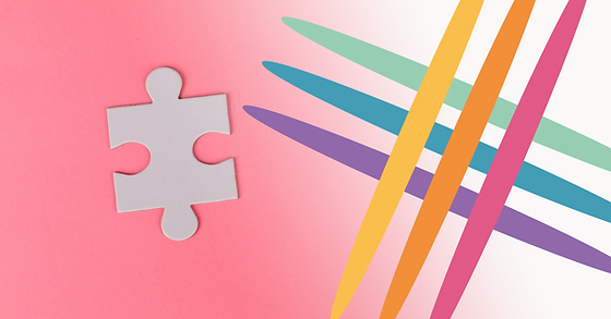 CNjigsaw-puzzle-on-pink-background-34824