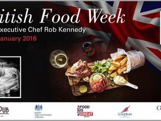 British Food Week 22nd - 29th Jan in  Sri Lanka
