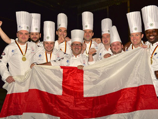 English National Team wins gold in Culinary Olympics