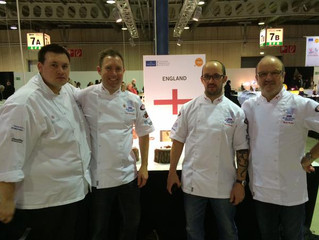 World Cup Silver for the English National Culinary Team!