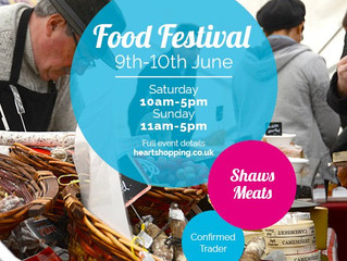 Heart Food Festival 9th-10th June