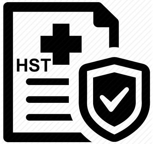 Insurance Certificate (HST)
