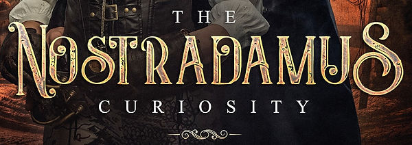 THE NOSTRADAMUS CURIOSITY FRONT COVER cr