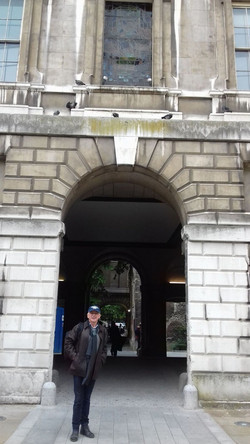 BART'S HENRY VIII ARCH