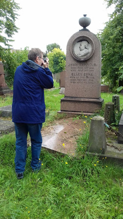 KENSAL GREEN BEHIND THE SCENES AT EPPS GRAVE