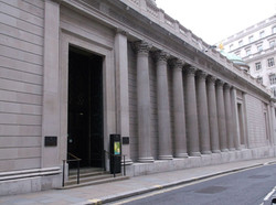 BANK OF ENGLAND DOOR PLUS COLUMNS AND CURTAIN WALL