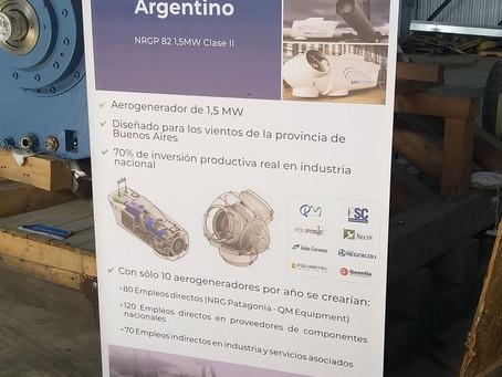 NRG PATAGONIA Aerogenerador Clase II