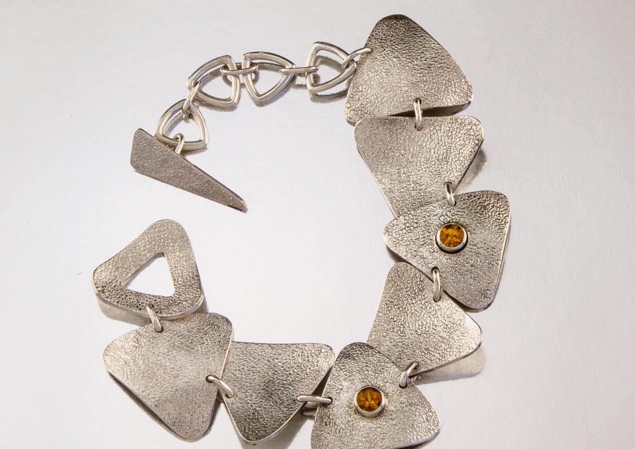 Triangle Bracelet Nora Fischer Designs