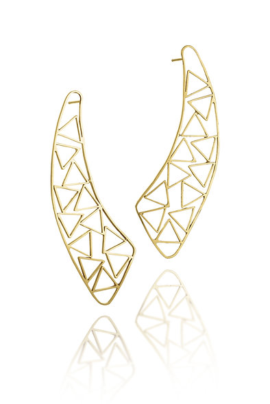 Jib Triangle Earrings