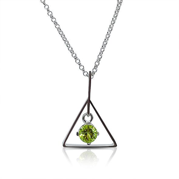 Alchemy Necklace, Peridot