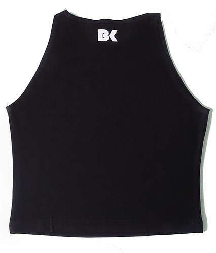 BK Black Crop Top
