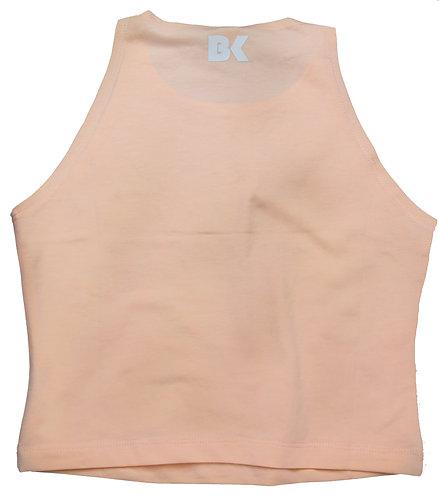 BK Peach Crop Top