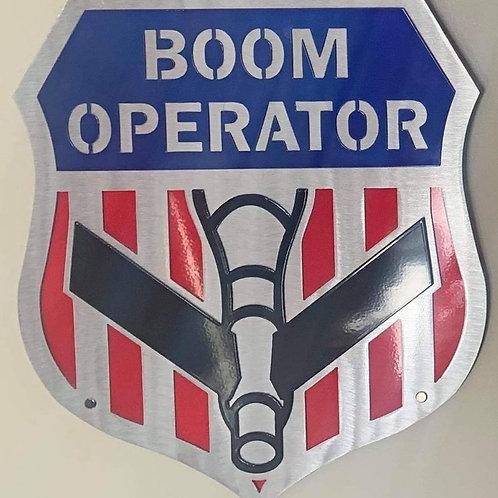 Boom Operator Shield - Metal Works