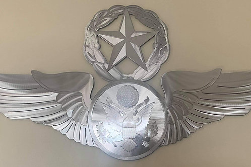 Airman's Wings (3 Options) Metal Works