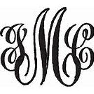 Personalized Monograms (sample)