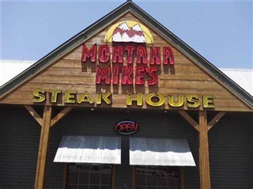 2021 Reunion Group Dinner - Montana Mikes 11 Nov 5:00 pm