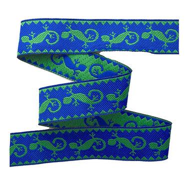 Webband Salamander Blau 20mm