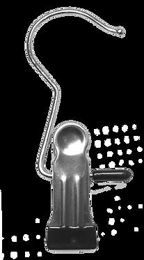 Metallhaken mit Clip
