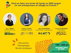 Réussir sa levée de fonds en 2021 quand on est réfugié et entrepreneur en France