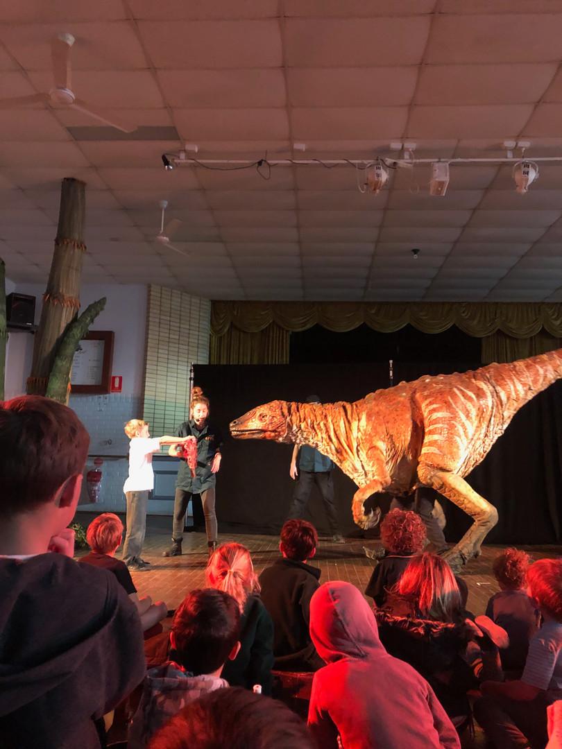Erths Dino Zoo Show