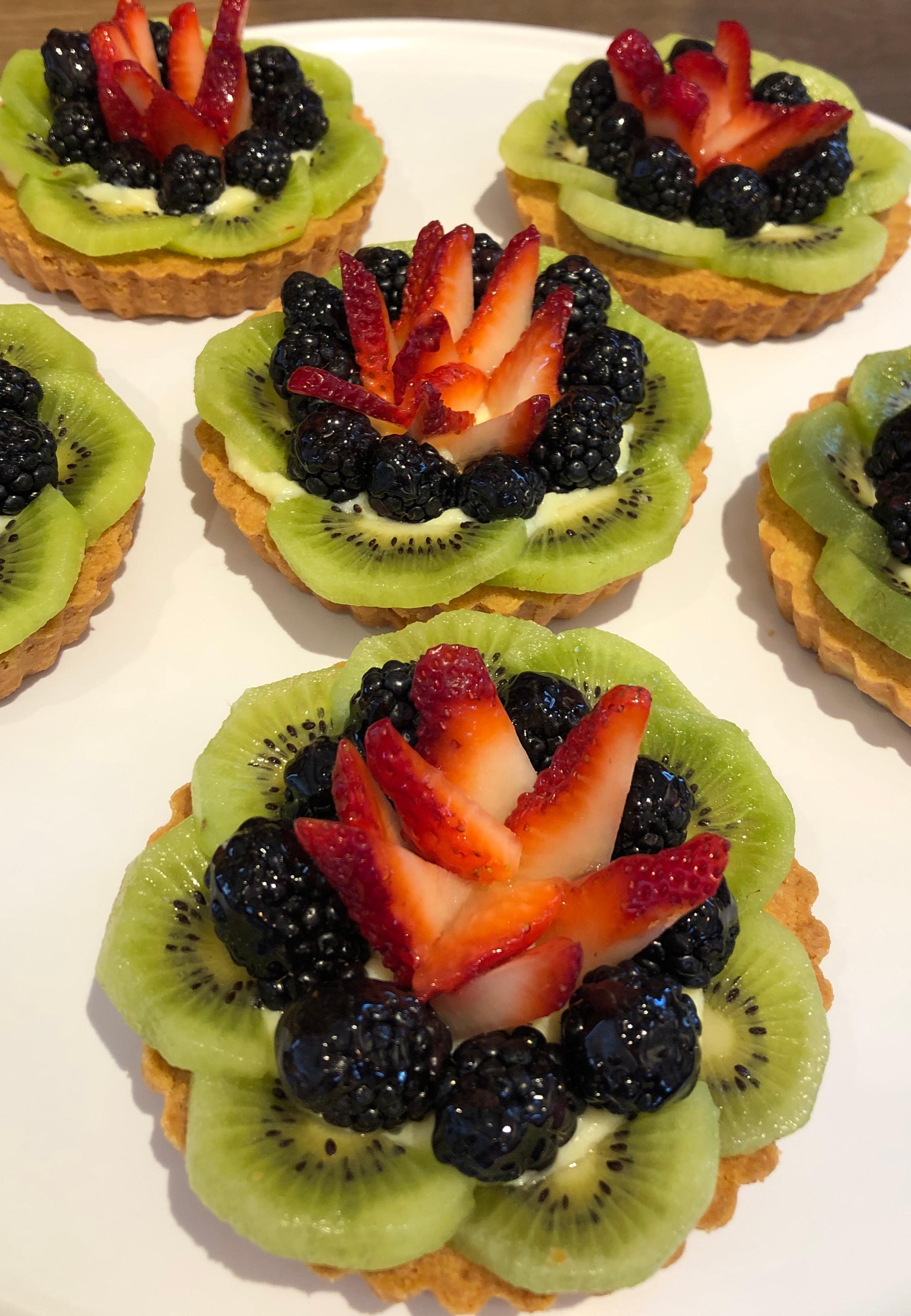 April Baking Class - Fruit Tarts