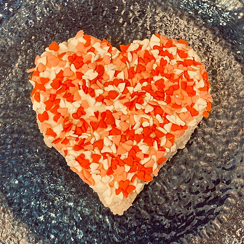 Heart Crispy Rice Treat