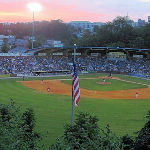 Asheville Tourist Baseball Game!