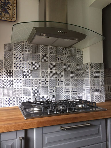 Kitchen Splashback | Tiler Harrogate