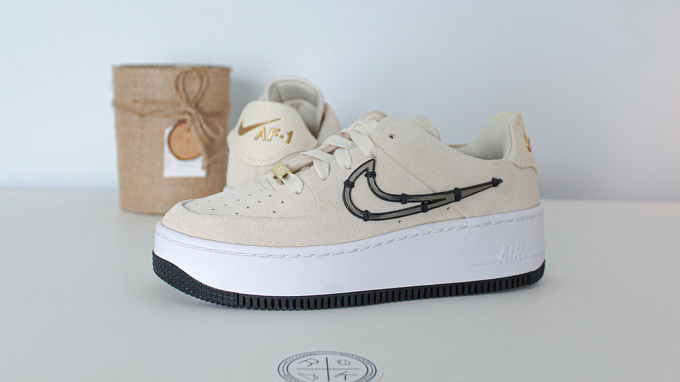 WMNS Air Force 1 Sage Low LX Cream