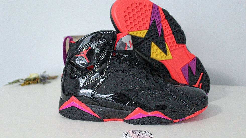 WMNS Air Jordan 7 Retro Black Gloss