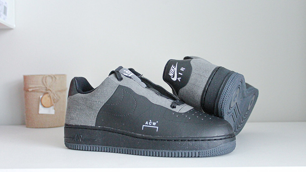 A Cold Wall x Air Force 1 Low Black