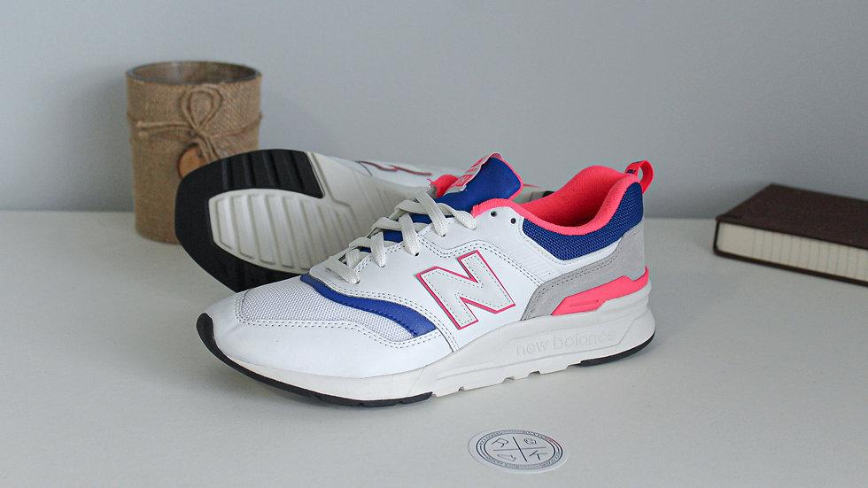 New Balance 997 White Pink Blue