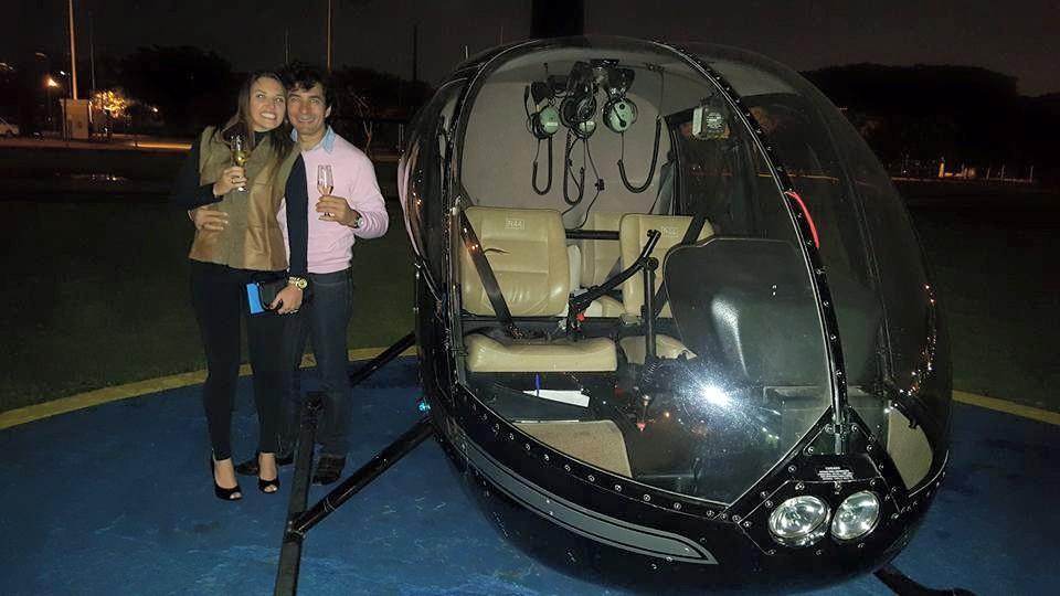 voo helicóptero sp