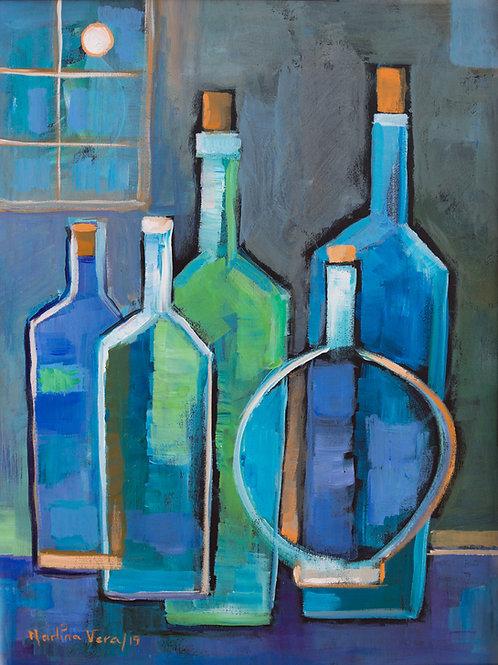Cubist Wine #12