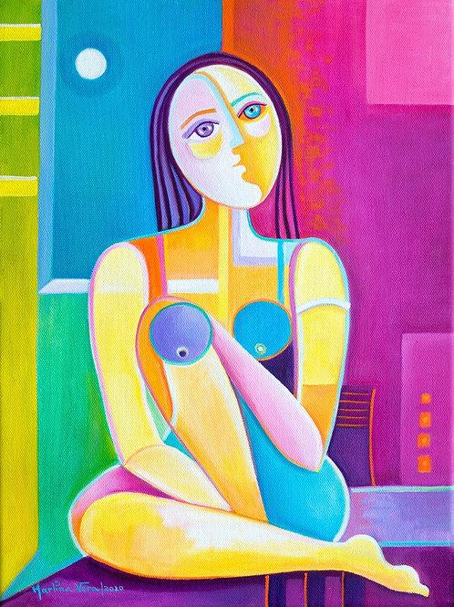 Woman at Peace # 7