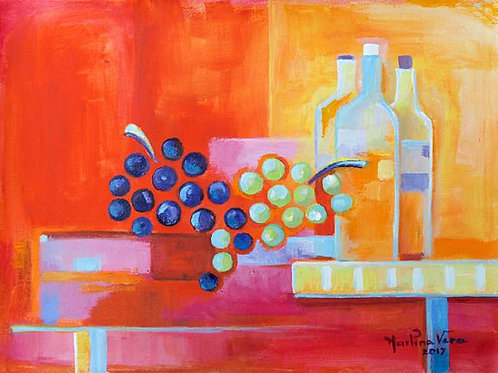 Wine and Fruits #5