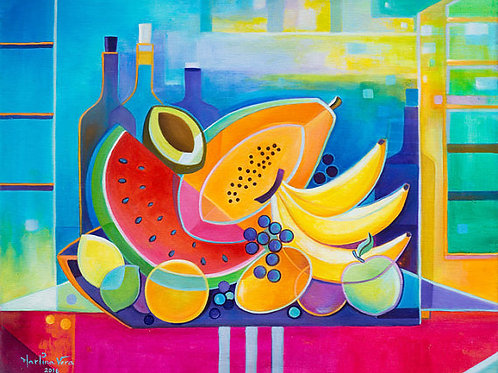 Wine and Fruits #4
