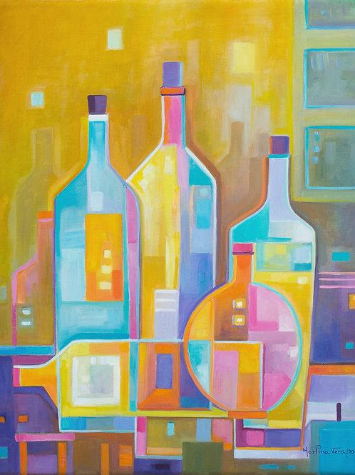 Cubist Wine #13