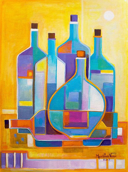 Cubism Wine #8