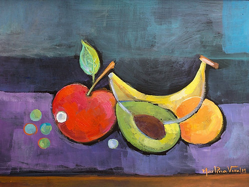 Cubist Fruits