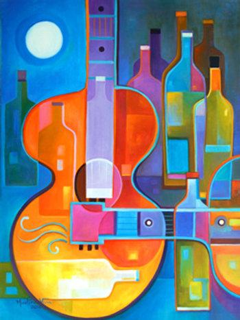 Guitar Music and Wine